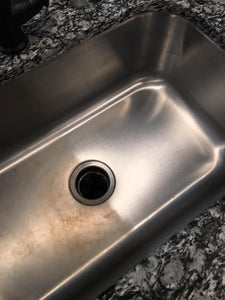 how to remove water stains from stainless steel