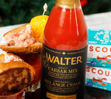 Scout x Walter Caesar Holiday Seafood Caesar