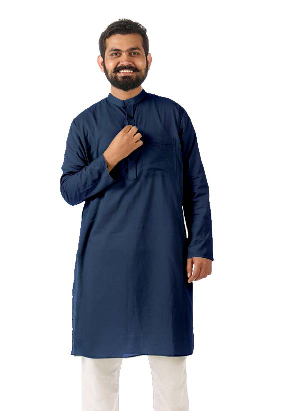 Detailed Yoke and Piping Kurta, Товчтой курта