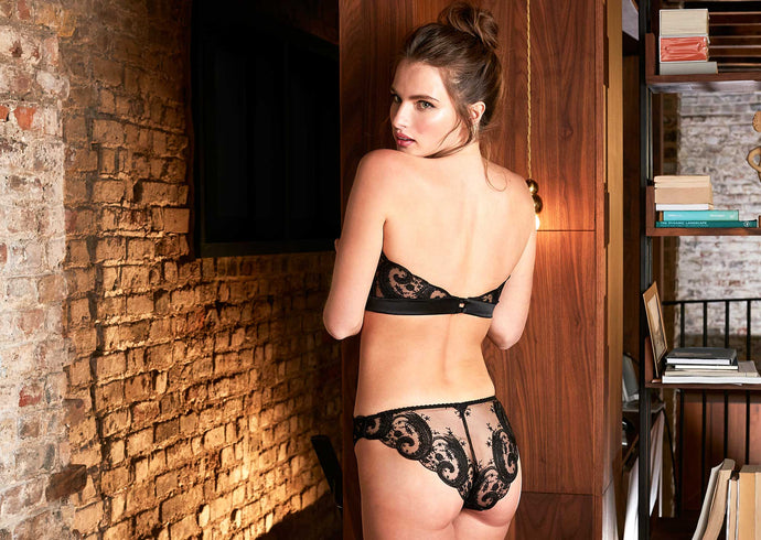 The Secret behind our New Black Lingerie Collection
