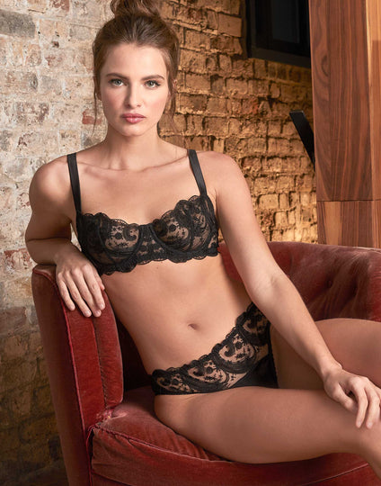 Fleur of England Cosmic Balcony Bra Brief