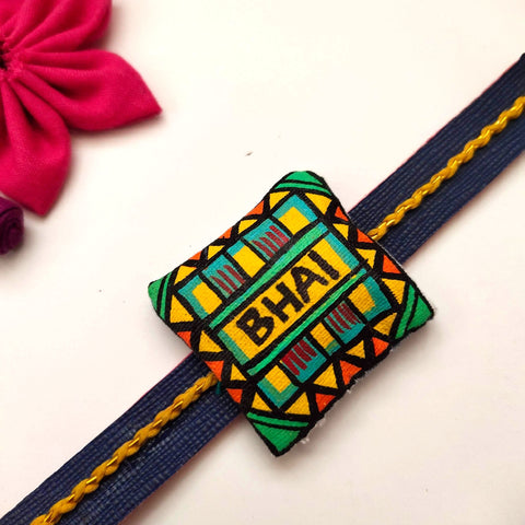 Hand painted Rakhi- BHAI