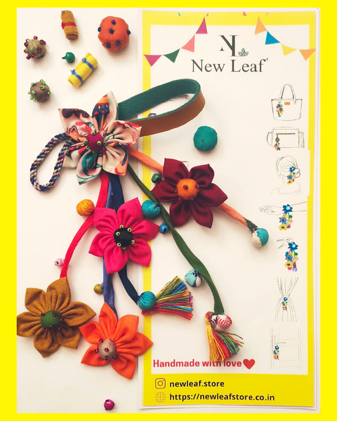 Handmade Floral Charms - Multi function Fashion Accessory