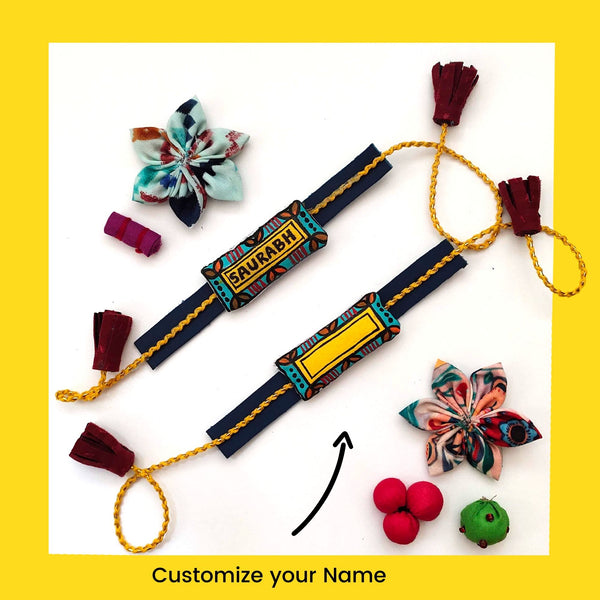 Customized Hand painted Rakhi