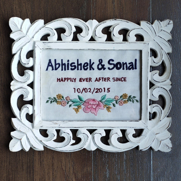 Customized Handcrafted Wooden Frame