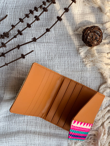 Handcrafted Boho Card Wallet