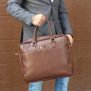 Handcrafted Laptop Bag