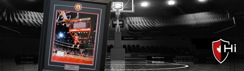 custom framed sports art