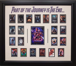 Avengers End Game - custom framed collage