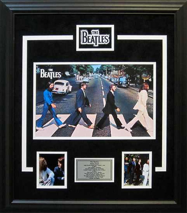 The Beatles - Abbey Road - Framed collage