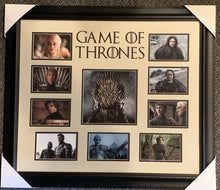 Load image into Gallery viewer, GAME OF THRONES - custom framed collage