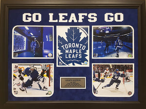 Leafs Nation - framed photos with etched mattes and pins