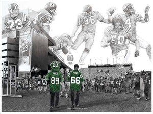 "Saskatchewan Roughriders - ""Three Generations of Pride"" Jeremy Bresciani"
