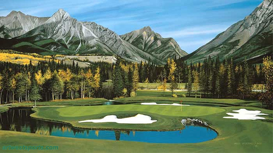 Willie Underhill Kananaskis Country - Mount Kidd Course - Hole #4