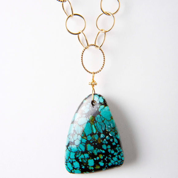 Becs Necklace - Turquoise