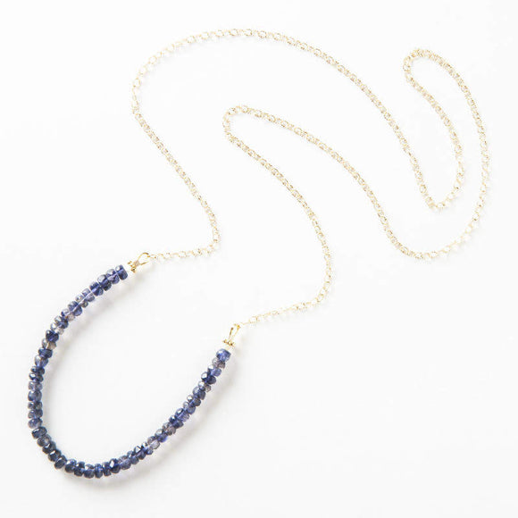 Allison Necklace - Iolite