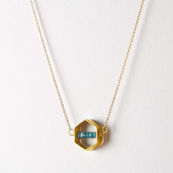 Kelly Necklace - Apatite