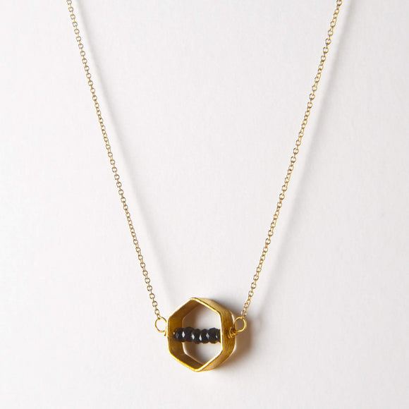 Kelly Necklace - Black Onyx