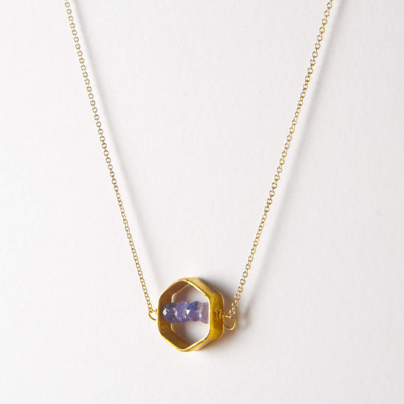 Kelly Necklace - Tanzanite