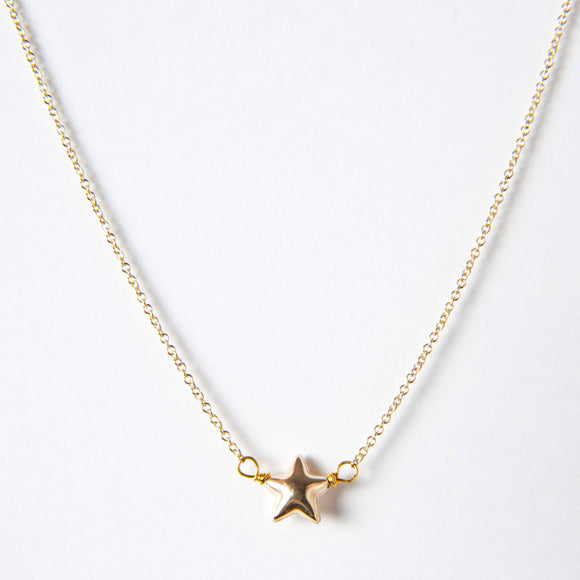 Annie Necklace - Star Charm