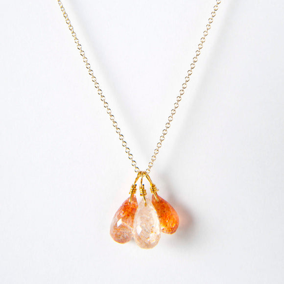 Amy Necklace - Sunstone