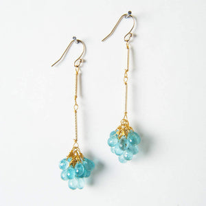 Beatrix Earrings - Apatite