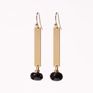 Ashley Earrings - Black Onyx