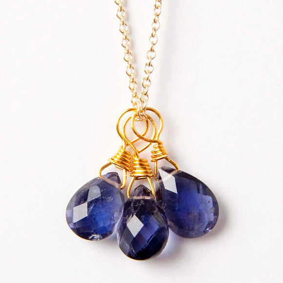 Amy Necklace - Iolite