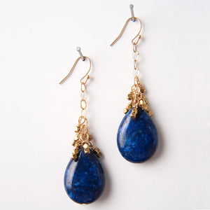 Dani Earrings - Lapis