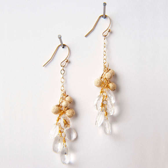 Jenny Earrings - Rock Quartz