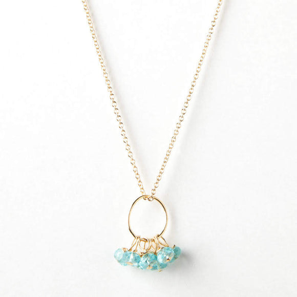 Emma Necklace - Apatite