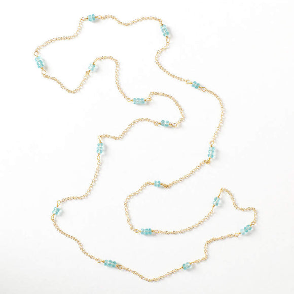 Grace Necklace - Apatite