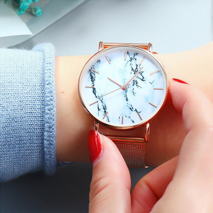 Marmo Marble Watch