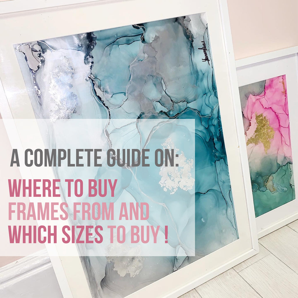 FRAMES! FRAMES! FRAMES! A complete guide on where to buy frames from