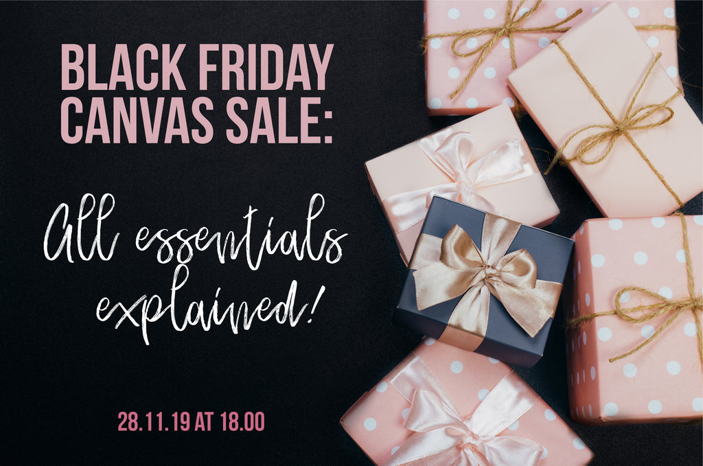 Black Friday Canvas sale- All essentials explained