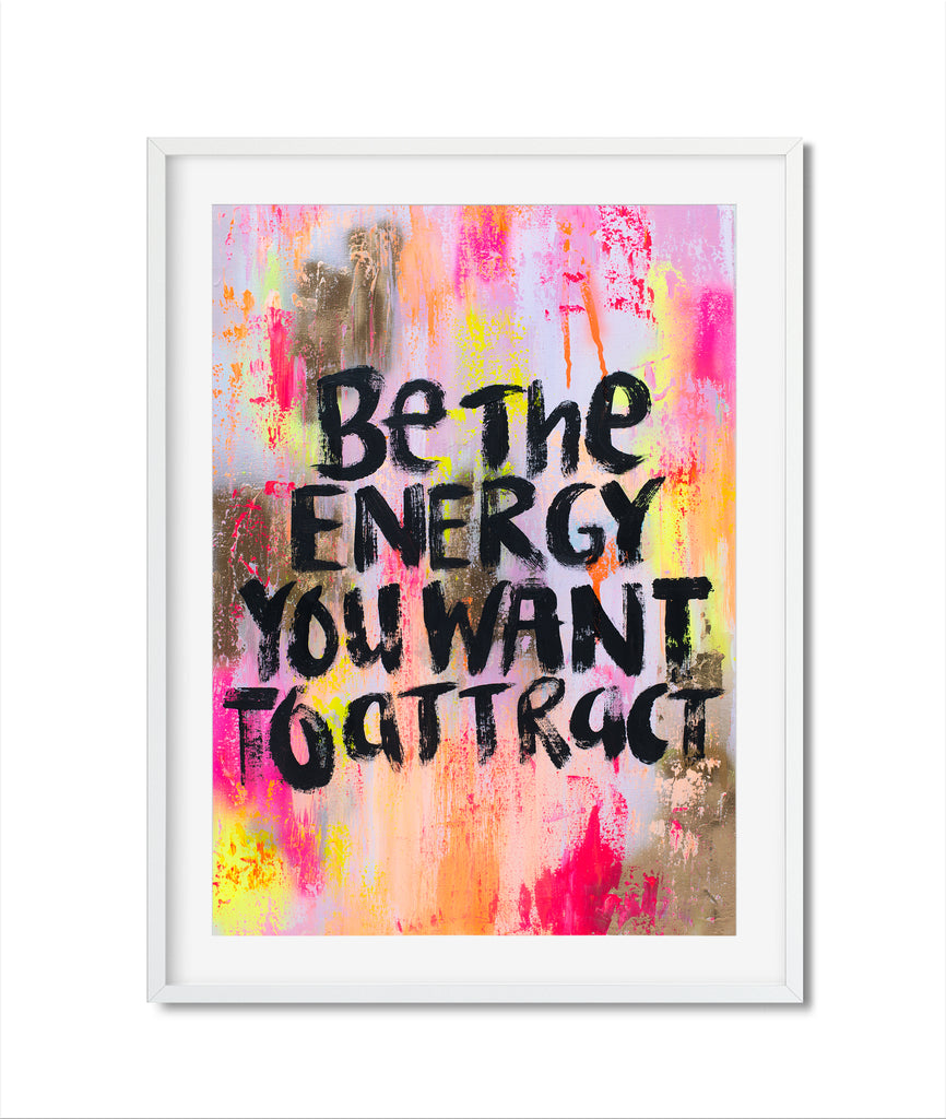 Be your energy print