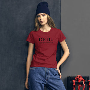 Do Epic Things Womens T-Shirt