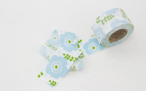 3.5 cm Cotton Bias - Spearmint- 10 Yards - By the Roll - 89173