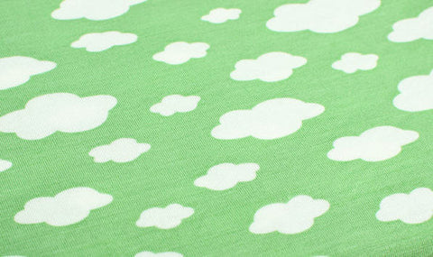 Cloud Rayon Jersey Knit - Green - 59 Inches Wide - Fabric By the Yard
