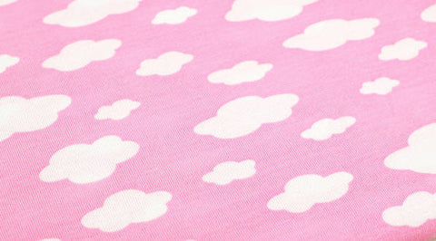 Cloud Rayon Jersey Knit - Pink - 59 Inches Wide - Fabric By the Yard