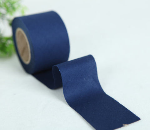 4 cm New Solid Series Cotton Bias - Blue Depths - 10 Yard roll - 81443-051