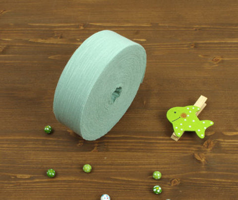 4 cm Large Roll Brushstroke Series Cotton Bias - Mint - 30 Yards - By the Roll - 89198