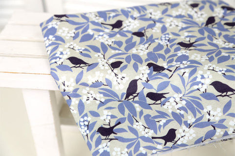 (NEW!) Birds Cotton Fabric - Fabric By the Yard 95246