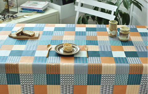 Laminated Fabric, Geometric Patterns Fabric - By the Yard 100820