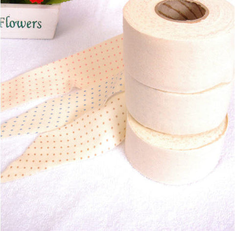 Organic Cotton Interlock Knit Bias Tape in 3 Colors 4 cm Wide (1.6 inch) 71157