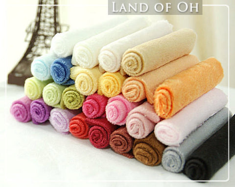 By the Yard - 1 mm Smooth Cuddle Minky Fabric Choose from 26 Colors per Yard