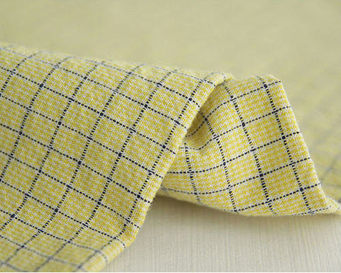 0.7 cm Plaid Cotton (43 x 36