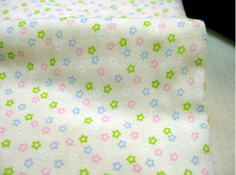 Cotton Gauze Mini Stars (43 x 36