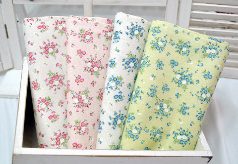 Cotton Linen Dandelions - Choose From 4 Colors - 57