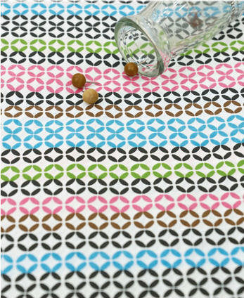 Cotton Fabric - Colorful Geometric - By the Yard 48306